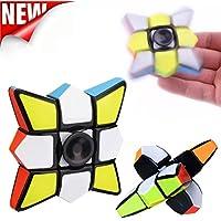 diranceスピードキューブ1 x 3 x 3、マジックキューブパズルRubiks CubeスピナートレーニングフォーカスEDC Fidget Stress Relief Toy F DR