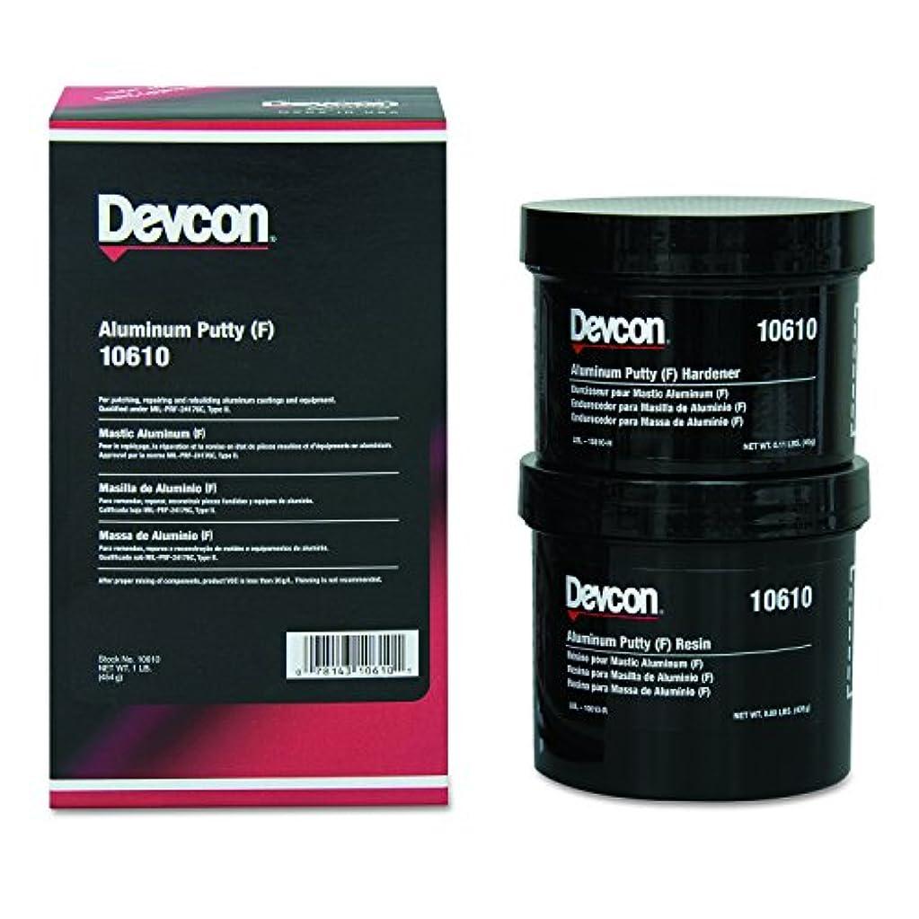 しがみつくマイルドキャロラインDevcon 10610 Aluminum Putty (F), 1 lb. Can by Devcon