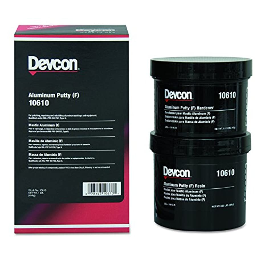 腐ったディレクトリ服Devcon 10610 Aluminum Putty (F), 1 lb. Can by Devcon