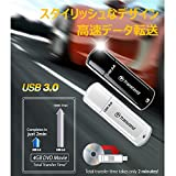 Transcend USBメモリ 8GB USB 3.0 キャップ式 ホワイト TS8GJF730
