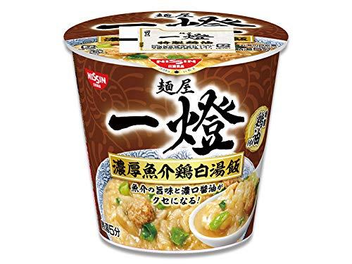 【販路限定品】日清食品 麵屋一燈 濃厚魚介鶏白湯飯 102g×6個