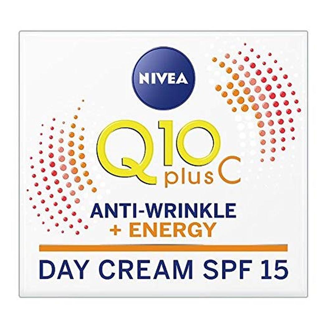 アクチュエータ夕方便宜[Nivea] ニベアQ10プラスCエネルギーデイケアSpf 15 50ミリリットル - Nivea Q10 Plus C Energy Day Care Spf 15 50Ml [並行輸入品]