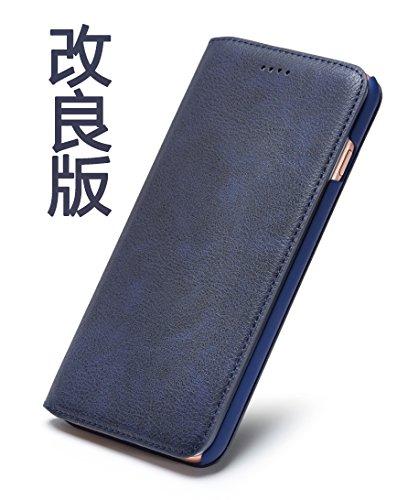 Tindon iPhone7ケース 手帳型 レザー 革 薄 ...