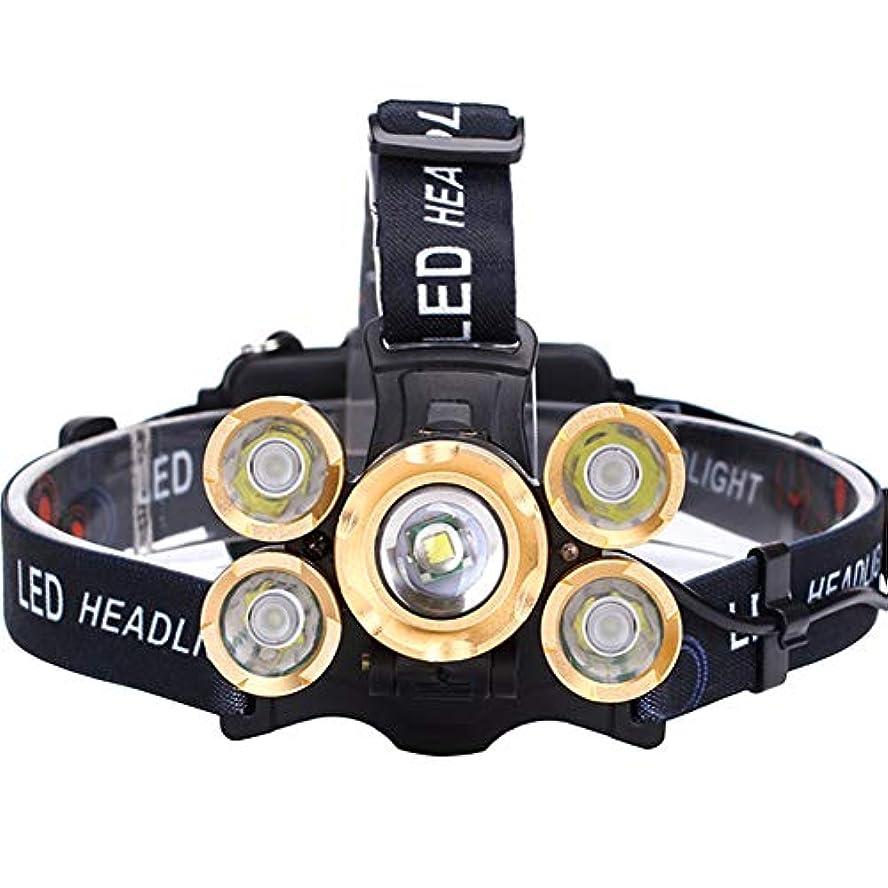 バラバラにする教室メガロポリスヘッドライト,多機能ヘルニア登山釣りズームスーパーブライトヘッドライト (サイズ さいず : #B)