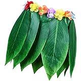 Baoblaze 葉フラスカート ハワイアン スカート コスチューム 忘年会 舞台道具