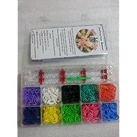 [Artasy ™][並行輸入品] Loom Bands Lite Glitter & luminous Convience Box  ゴムバンドでカラフルブレスレット