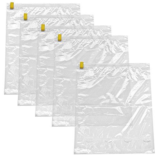 衣類圧縮袋 5枚組 日本製 VS-5