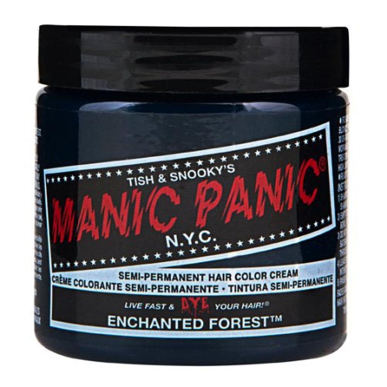 ステレオ伝染性の代表マニックパニック カラークリーム エンチャンティッドフォレスト