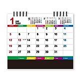 新日本カレンダー 2020年 カレンダー 卓上 カラーインデックス 15×18cm NK8516