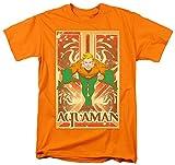 DC Comics SHIRT メンズ US サイズ: X-Large カラー: オレンジ
