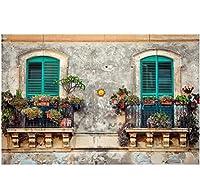 Wuyyii 3D壁紙カスタム壁画写真別荘ヨーロッパ建築風景装飾絵画3D壁壁画壁紙用壁3 D
