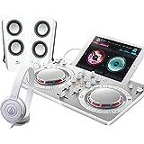 PIONEER DJスタートセット DDJ-WEGO4-W + Z200 + ATH-S100(DJコントローラー + スピーカー + ヘッドホン) (ホワイト)