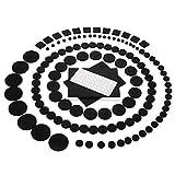 (カップテン)Kupton 家具保護パッド フェルトクッション 174pcs フローリング 床 椅子脚用 フェルトシール 足カバー キズ防止 防音 防振 滑り止め 丸形 四角形 方形 粘着付