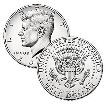 ケネディ 50セント白銅貨 1971年以降