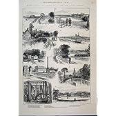 1884 の川の Chadwell のばね製品の Theobalds の水門の家