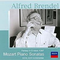 モーツァルト:ピアノ・ソナタ第8番&第9番&第18番