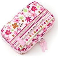 お食事セット用ポーチ 赤ちゃん 外出 日本製 スカンジナビアのフラワーパーク(ブロード地?ピンク) B2402600