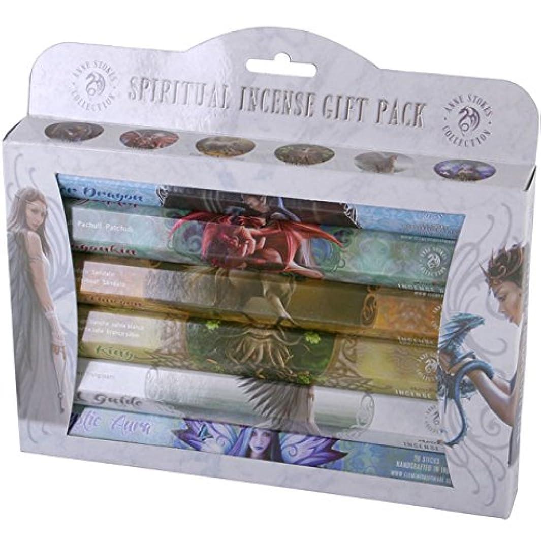 すみません風グッゲンハイム美術館Anne Stokes Spiritual Incense Home Fragranceギフトパック120 Sticks