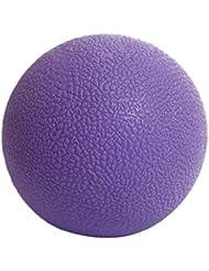 Kesoto マッサージボール ジムフィットネス 筋肉マッサージ ボール トリガーポイント 4色選べる - 紫