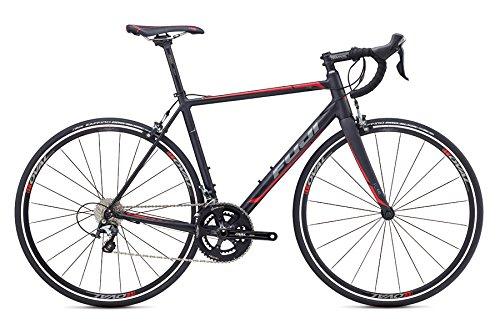 FUJI (フジ) ロードバイク ROUBAIX 1.5 (ルーべ1.5) 2017年モデル (マットブラック/レッド) 46サイズ