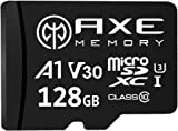 亞馬遜限定品牌 ACSS 128GB microSDXC卡 UHS-I U3, A1, V30, 4K Ultra HD, C10, 帶SD適配器 AXP4K128
