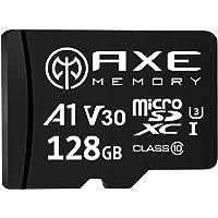 [Amazon限定ブランド] アクス 128GB microSDXCカード UHS-I U3, A1, V30, 4K…