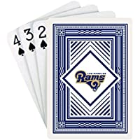 NFL Los Angeles Rams Playing Cards (クラシックバック、Oneデッキ)