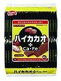 ハイカカオ プラスCa・Fe ウエハース カカオクリーム味 40枚
