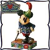 木彫り調フィギュア ミッキーマウス 「ミッキーの勇敢な仕立屋さん」 (たのもしい?) <ミッキーの巨人退治>