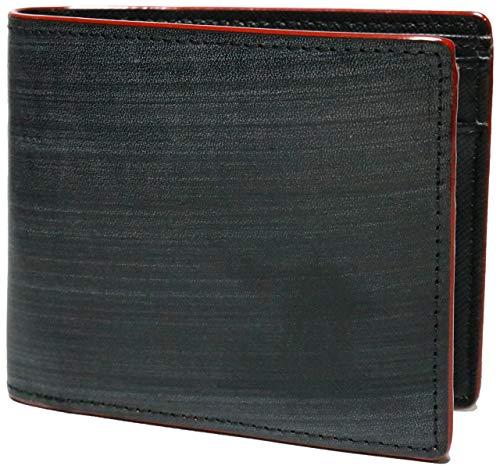 ブライドル レザー イタリアレザー 本革 牛革 二つ折り 財布 2つ折り 短財布 メンズ レディース 男性 小銭入れあり 薄型 折りたたみ ショートウォレット おりたたみ 短サイフ ファスナーなし 革 サイフ 0010118-F-124