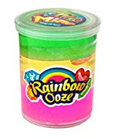 Rainbow Slime Ooze by JA-RU | Glitter Squishy Toys Sticky and Stretchy Colorful Goo Pack of 1 | Item #4634 【You&Me】 [並行輸入品]