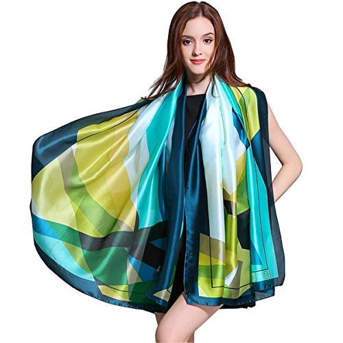 K-Elewon围巾摊位的女士丝巾披肩大幅面薄消声器的散热措施防晒霜乘客海边之旅
