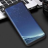 AL サムスン Galaxy スマホケース 360度 フル カバー ケース 耐衝撃 ケース ブラック Galaxy S8 AL-AA-5056-BK-S8