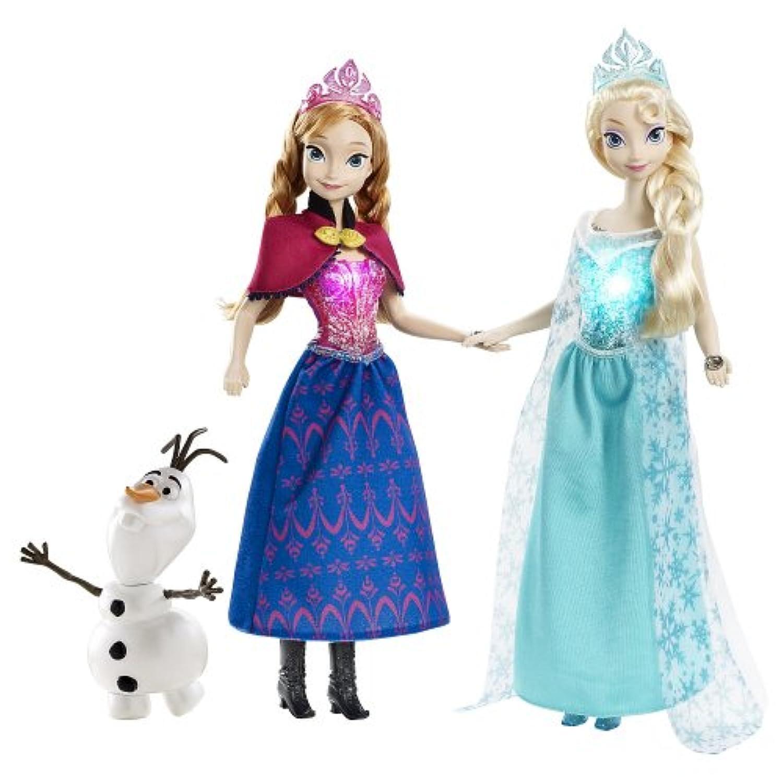Disney アナと雪の女王 ミュージカル マジック エルサ アナ オラフ 人形 Frozen Musical Magic Gift Set Elsa Anna Olaf Doll 並行輸入