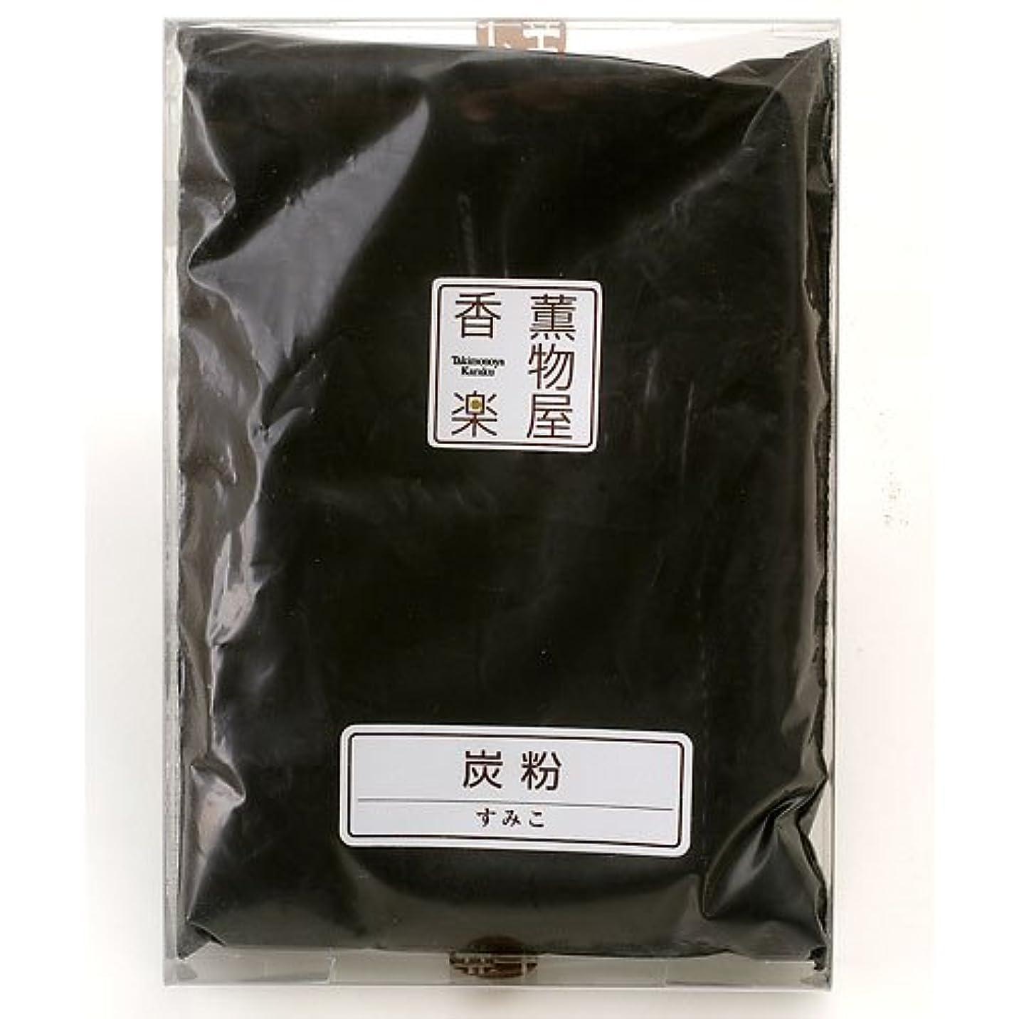 インスタンス付与の頭の上炭粉(着火/カビ防止) 線香?練香の材料