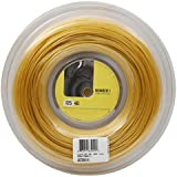 LUXILON(ルキシロン) テニス ストリング ガット 4G 125 [単張り / 200mリール] イエロー