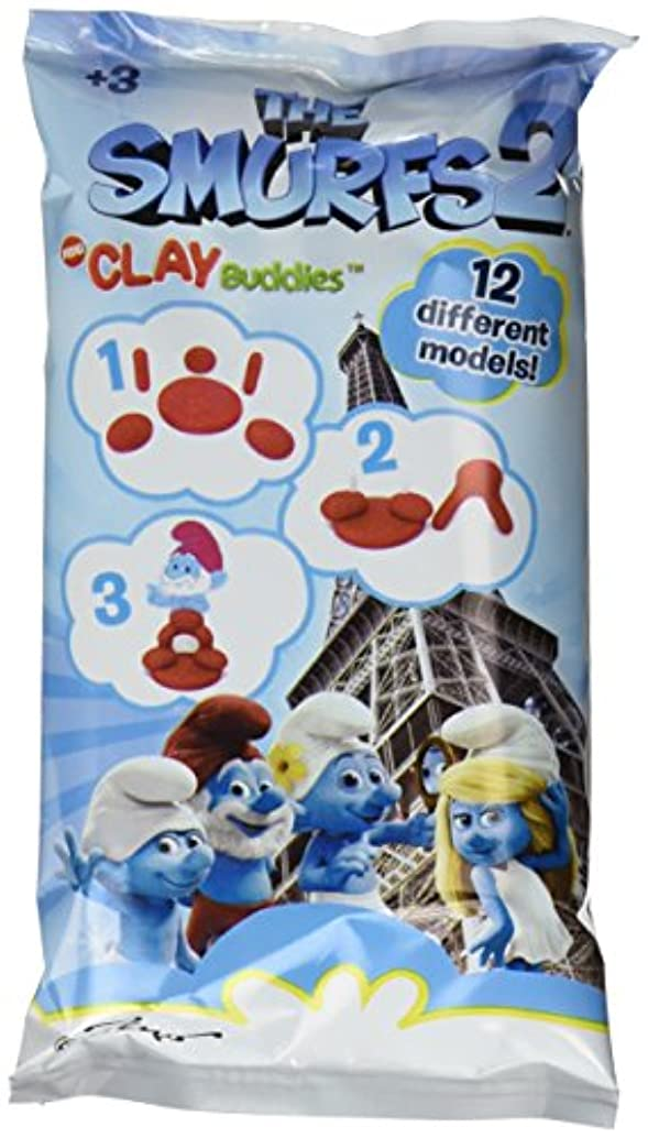 Giromax Smurfs Flow Clay Buddies Pack