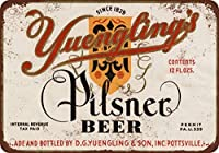 1934Yuengling 's Pilsner Beer Vintage Look Reproduction Metal Tin Sign 8x 12インチ