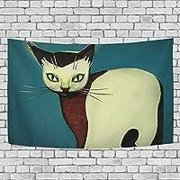 猫 タペストリー 壁掛け インテリア 装飾用品 モダンなアート ソファーカバー マット ホーム飾り おしゃれ 多機能 窓カーテン プレゼント 和風 自然風景 動物 人気柄