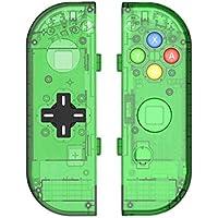 Myriann 任天堂 Nintendo Switch ニンテンドー カラー置換ケース 代わりケース 外殻 ついに登場! (グリーン)