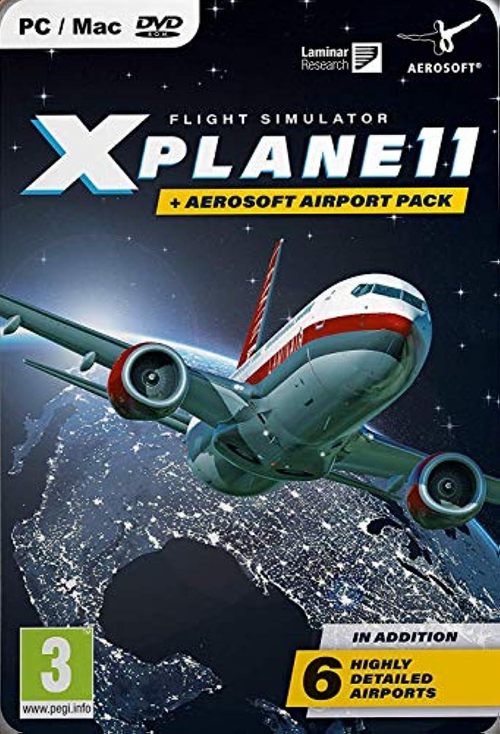 星略すXPlane 11 + Aerosoft Airport Pack (輸入版)