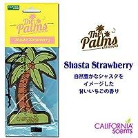 カリフォルニアセンツ パームツリー エアフレッシュナー 【SHASTA STRAWBERRY】CALIFORNIA SCENTS Palms Hang Out Air Fresheners 芳香剤