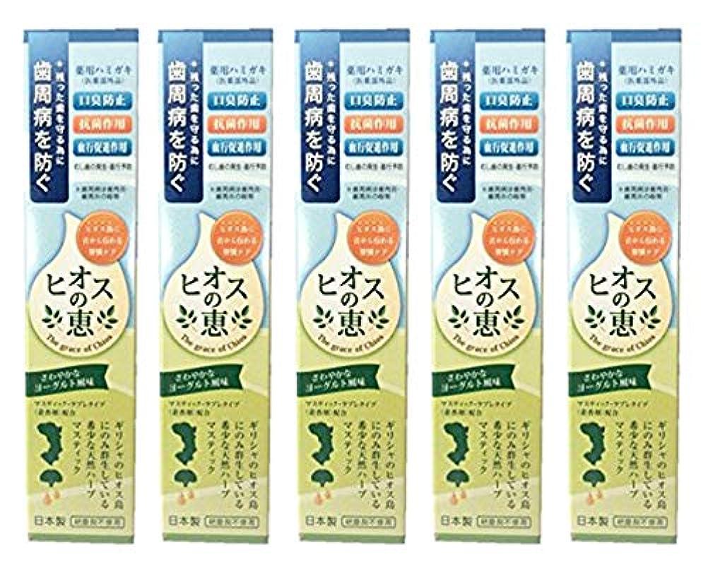 極端な調べるまっすぐにするヒオスの恵 60g 【まとめ買い1個60g×5個】薬用ハミガキ 日本製