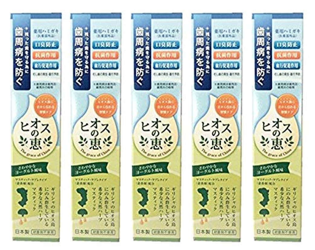 ヒオスの恵 60g 【まとめ買い1個60g×5個】薬用ハミガキ 日本製