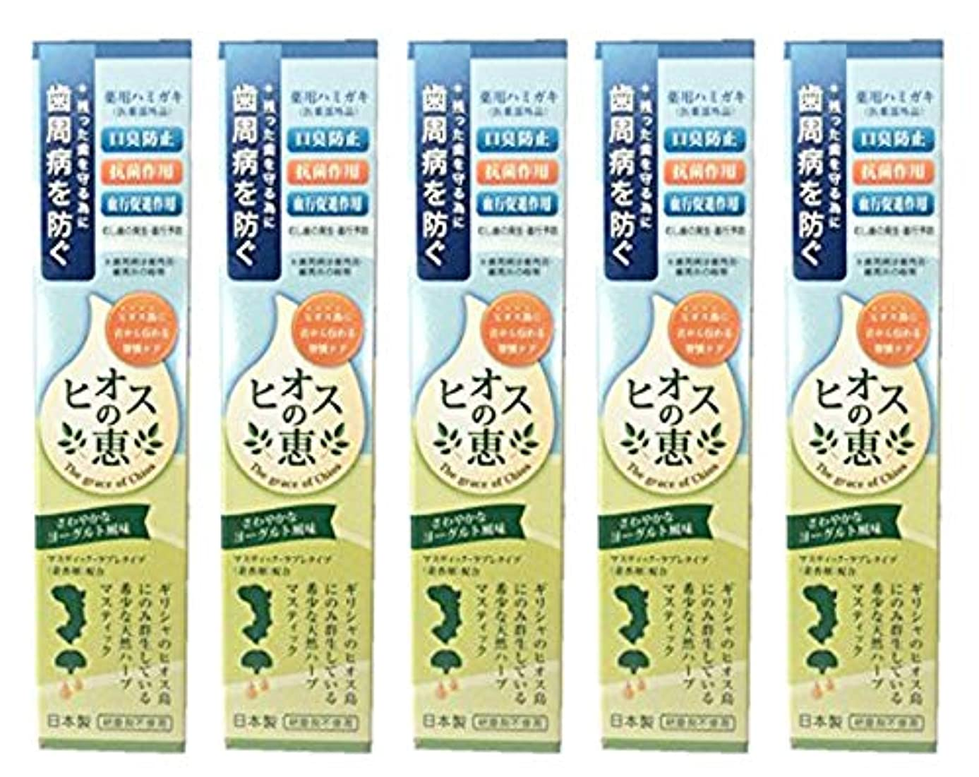 超える溶岩安定したヒオスの恵 60g 【まとめ買い1個60g×5個】薬用ハミガキ 日本製