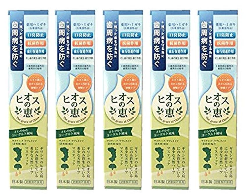 スパン汚いぴかぴかヒオスの恵 60g 【まとめ買い1個60g×5個】薬用ハミガキ 日本製