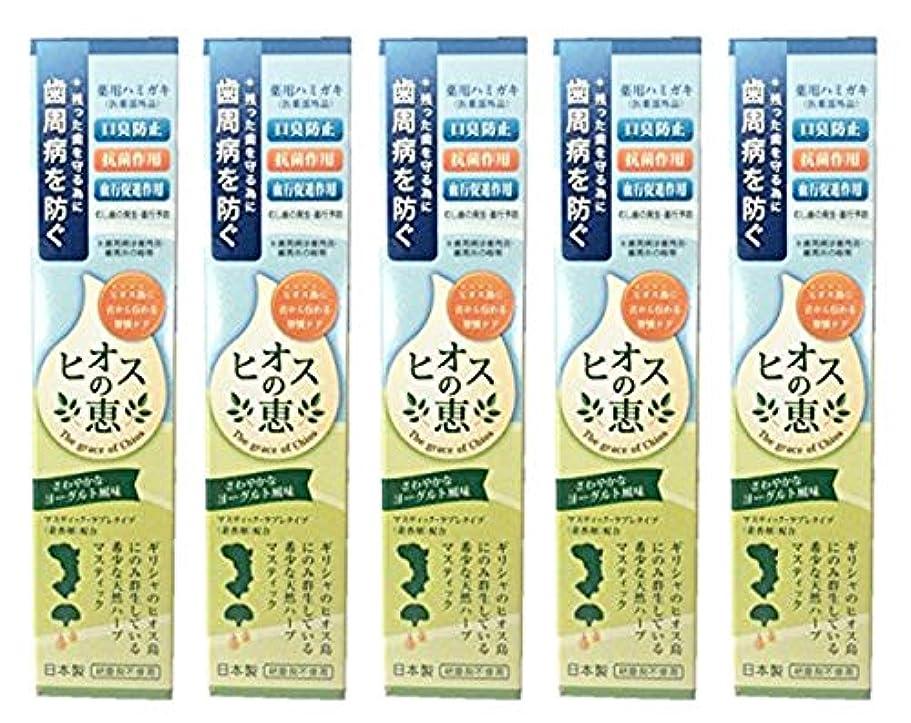 前者悲しい審判ヒオスの恵 60g 【まとめ買い1個60g×5個】薬用ハミガキ 日本製