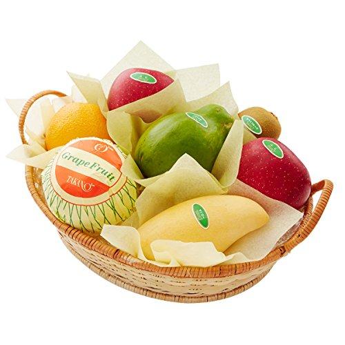 新宿高野 フルーツバラエティー #29100 [りんご/パパイヤ/マンゴー/キウイ/グレープフルーツ/オレンジ] お中元 敬老の日 ギフト 果物 つめあわせ