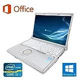 【Microsoft Office 2016搭載】【Win 10搭載】Panasonic CF-N10/次世代Core i5 2.5GHz/メモリー4GB/新品SSD:240GB/新品外付けDVDスーパーマルチ/12.1インチ/無線LAN搭載/中古ノートパソコン (新品SSD:240GB)