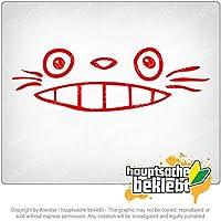 となりのトトロ - 近所のトトロ My Neighbor Totoro - Neighbor Totoro 20cm x 6,5cm 15色 - ネオン+クロム! ステッカービニールオートバイ
